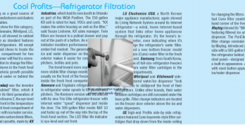 Filtered Water 'All Through the Home' at K/BIS