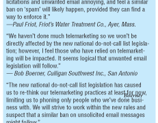 How Pending Spam Legislation Threatens Email Marketing :(