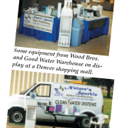 Where Business is Naturally Good—Nature's Sparkle Water Conditioning, of Goodland, Kan.