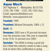 Cultivating the Rich Soil  in the Garden State: Aqua Mech of Manalapan, New Jersey