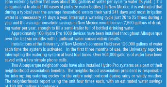 Southwest Water Conservation Using Mobile Technology