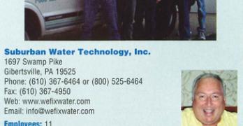 Suburban Water Technology, Inc. of Gilbertsville, PA