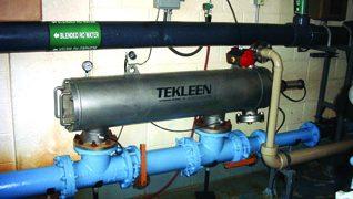 Self-Cleaning Filtration Remediates High Radium Levels