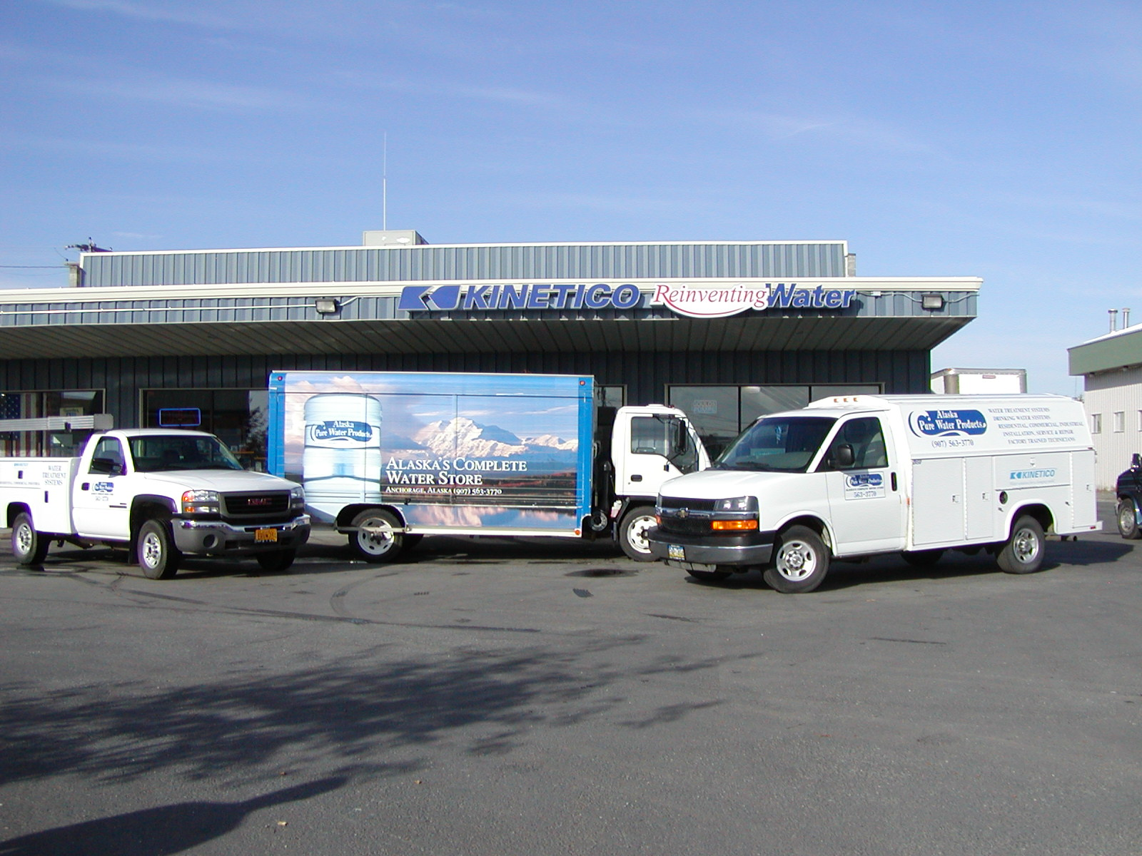 Alaska Pure Water Products 301 East International Airport Rd Anchorage 99518 Phone 907 563 3770 Fax 5502