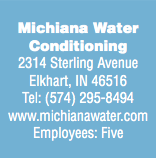 Michiana Water Conditioning Makes Smaller Look Very Successful