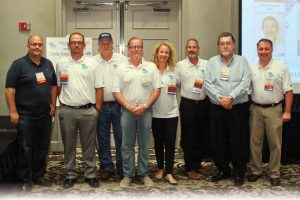 Pictured from left to right: Rico Garcia, Jeremy Greene, Bill Certain, Ken Gibson, Amanda Moore, Phil Fralix, Mike Lester and Todd Mosteller.