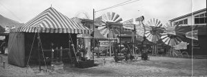 Baker Manufacturing Company exhibit at the 1939 Milwaukee State Fair