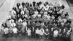 Employees at 125th anniversary
