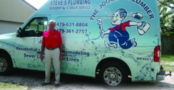 Steve's Plumbing of Arkansas: The Jogging Plumber and Water Treatment Dealer