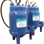 Axial grinder pumps